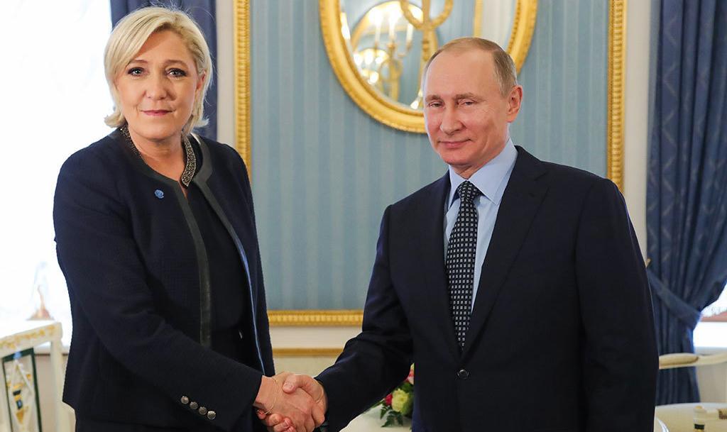 Визит Марин Ле Пен в Москву может помочь ее предвыборной кампании - Ведомости