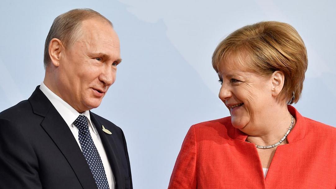 Путин и Меркель впервые за почти пять лет встретятся в Кремле - Ведомости