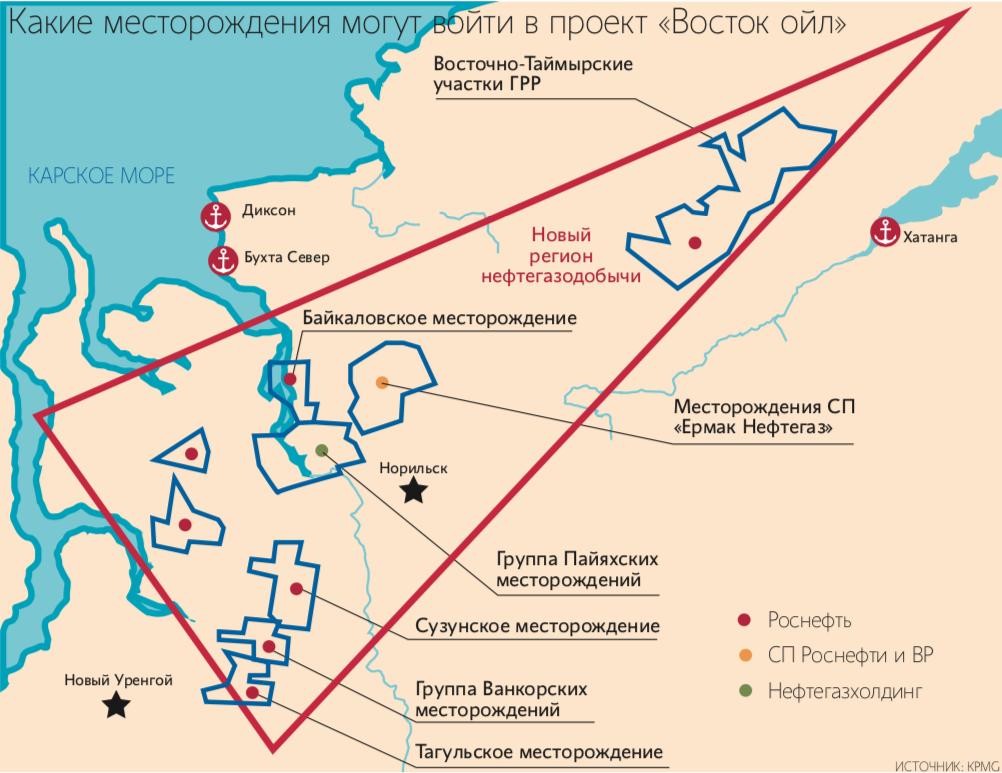 Роснефть» и «Нефтегазхолдинг» могут продать от 15 до 20% арктического  проекта - Ведомости