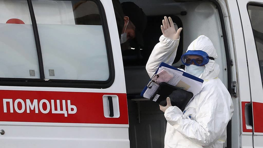 В России за сутки подтверждено 5849 случаев заражения коронавирусом