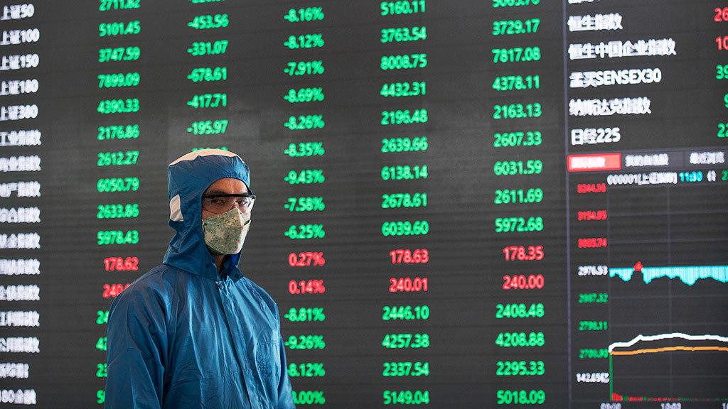Китайский фондовый рынок рухнул из-за коронавируса - Ведомости