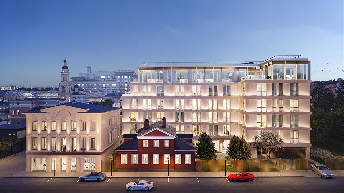 В России появится первый жилой комплекс под итальянским брендом Armani - Ведомости
